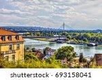 serbia  belgrade   july 26 ... | Shutterstock . vector #693158041
