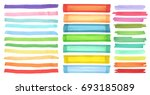 color highlight stripes ... | Shutterstock .eps vector #693185089