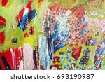 detail of the painting as a... | Shutterstock . vector #693190987
