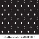 geometric black and white... | Shutterstock .eps vector #693208027