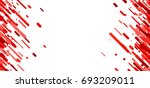 red abstract background on... | Shutterstock .eps vector #693209011