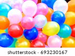 balloons and colorful balloons... | Shutterstock . vector #693230167