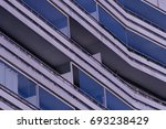 abstract architecture | Shutterstock . vector #693238429