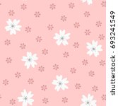 cute seamless pattern with... | Shutterstock .eps vector #693241549