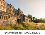 medieval pidhirtsi castle in... | Shutterstock . vector #693258379