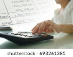 accounting business concept. ... | Shutterstock . vector #693261385