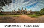 angkor wat temple  siem reap ... | Shutterstock . vector #693281839