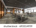 3d rendering business meeting... | Shutterstock . vector #693314959