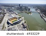 Aerial View Of Pittsburgh ...