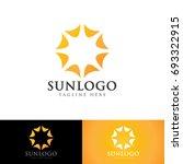 sun logo | Shutterstock .eps vector #693322915