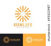 sun logo | Shutterstock .eps vector #693322987