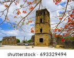 archaeological site of panam ... | Shutterstock . vector #693329494
