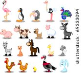 Great Vector Set Pets On The...