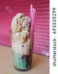 Small photo of Malaysian Cendol at a hawker stall