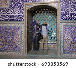 iran   october 2016    two... | Shutterstock . vector #693353569