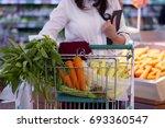 shopping   Shutterstock . vector #693360547