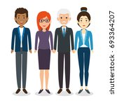 international business team | Shutterstock .eps vector #693364207