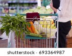 shopping   Shutterstock . vector #693364987