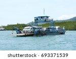 krabi  thailand   march 11 2014 ...   Shutterstock . vector #693371539