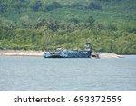 krabi  thailand   march 11 2014 ...   Shutterstock . vector #693372559