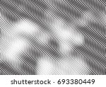 abstract background with lines... | Shutterstock .eps vector #693380449