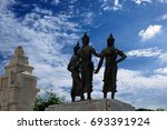 the three kings monument at the ... | Shutterstock . vector #693391924