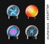 fortune sphere   realistic... | Shutterstock .eps vector #693397789
