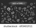 concept of education. school... | Shutterstock .eps vector #693401911
