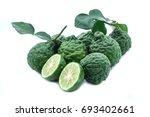 bergamot isolated on white... | Shutterstock . vector #693402661