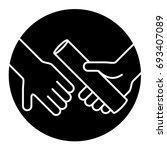 relay race symbol icon.