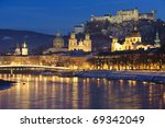 Austrian City Salzburg At...