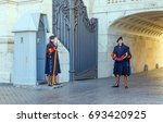 vatican city  vatican  ... | Shutterstock . vector #693420925