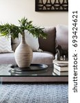 close up of decor items on a... | Shutterstock . vector #693424621