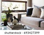 contemporary luxury interior... | Shutterstock . vector #693427399