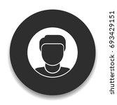 avatar icon | Shutterstock .eps vector #693429151