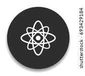 atomic icon | Shutterstock .eps vector #693429184