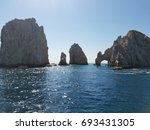 cabo san lucas arch | Shutterstock . vector #693431305
