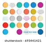 geometrical abstract background.... | Shutterstock .eps vector #693441421