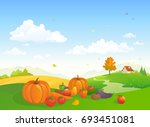 vector cartoon illustration of... | Shutterstock .eps vector #693451081