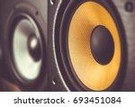 professional sound recording... | Shutterstock . vector #693451084