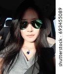 girl is blurry   Shutterstock . vector #693455089