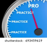 improving your performance with ... | Shutterstock . vector #693459619