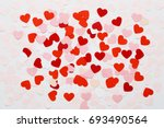 valentines day romantic... | Shutterstock . vector #693490564