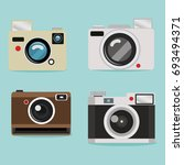 camera of collection design | Shutterstock .eps vector #693494371