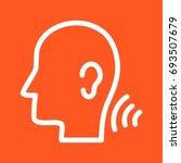 listening skills | Shutterstock .eps vector #693507679