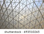 steel structure geometry... | Shutterstock . vector #693510265