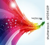 abstract background vector | Shutterstock .eps vector #69354109