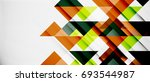 triangle pattern design... | Shutterstock . vector #693544987