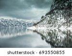fjords in norway | Shutterstock . vector #693550855