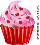 Vector Illustration of a Valentine Sweets. - stock vector